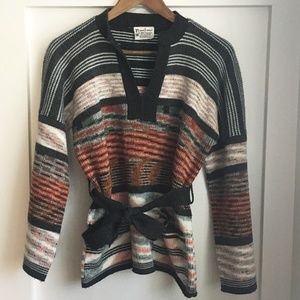 Vintage Kimlon Bell Sleeve Knit Sweater, Medium